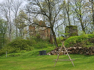 Embūte Castle - Image: Embūte