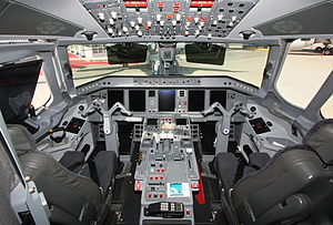 Embraer Lineage 1000 - Flight deck