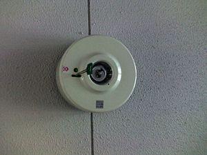 Emergency light - A small emergency light.
