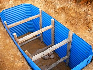 Sanitation - Emergency pit lining kits by Evenproducts