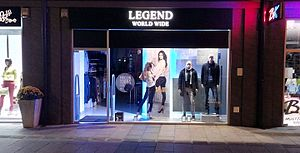 Legend World Wide - Legend World Wide store in Čačak.