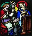 Engelhartszell Pfarrkirche - Fenster 2 Verkündigung.jpg