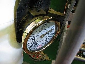 TSS Earnslaw - Image: Engine Order Telegraph Earnslaw