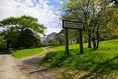 Entering Stonethwaite Village From the North - geograph.org.uk - 238268.jpg