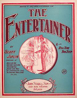 The Entertainer (rag) piano rag by Scott Joplin