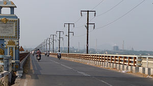 National Highway 30 (India) - Godavari Bridge at Bhadrachalam on National Highway 30