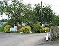 Entrance to Lucksall caravan and camping park - geograph.org.uk - 530244.jpg
