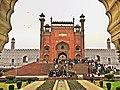 Entrance to the great Badshahi Moque, Lahore.jpg