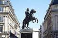 Equestrian statue of King Louis XIV in Paris, Place des Victoires.jpg