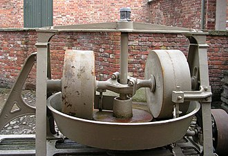 Pugmill - An old fashioned type of pug mill in Wales. Attribution: Betty Longbottom, geograph.org.uk - 351058