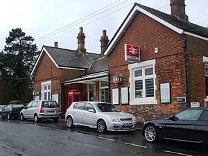 Eridge railway station - Image: Eridge Railway Station 2