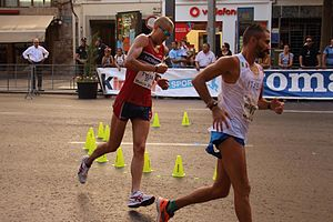Erik Tysse - Tysse at the 2015 European Race Walking Cup