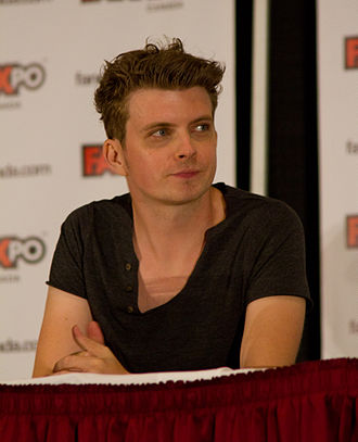 Erik Knudsen - Knudsen at a panel for Continuum at the 2012 Fan Expo Canada