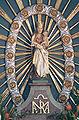 Eriskirch-Mariabrunn Pfarrkirche Hochaltar Gnadenbild.jpg