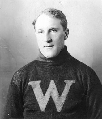 Moose Johnson - Johnson in 1912 with the New Westminster Royals.