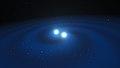 Eso1733q Artist's impression of merging neutron stars.jpg