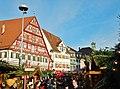 """Esslinger Mittelaltermarkt ^ Weihnachtsmarkt , Blick auf """"Seifenfabrik Kielmeyer"""" - panoramio.jpg"""