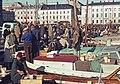 Eteläsatama, Kauppatori, kalamarkkinat 5.-6.10.1964 - XLVIII-1001 - hkm.HKMS000005-km0000m3b9.jpg
