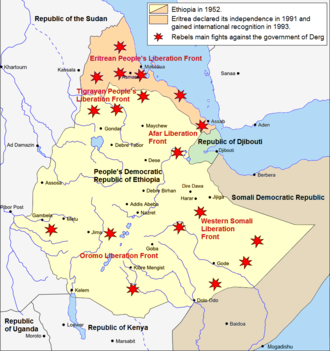 Ethiopian Civil War - The situation during the Ethiopian Civil War