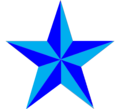 Etoile à 5 branches bleue.png