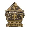 Etui till Karl IXs kröningsring, cirka 1616 - Livrustkammaren - 98914.tif