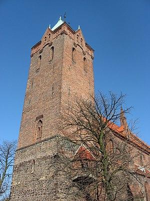 Byczyna - Image: Evangelic Church Byczyna POL