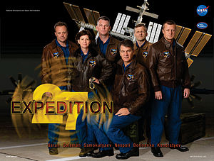 Expedition 27 - Expedition 27 mission poster