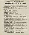 Extrait de la Libre Belgique clandestine (Peter Pan) du 15 février 1942 - Liste de fusillés.jpg