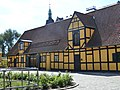 Fæstningens Materielgård - Vester Voldgade wing.JPG