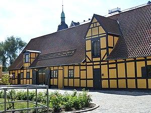 Fæstningens Materialgård - The storage building along Vester Voldgade seen from the courtyard