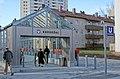 Fürth U-Bahnhof Hardhöhe Eingang.jpg