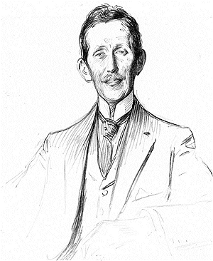 François Georges-Picot - Drawing of Georges-Picot