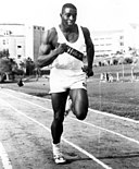 FAMU athlete Robert Hayes practices running on the track.jpg