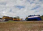 FEC dieseltrain with Ares I-Xsegments and NASA loco 3.jpg