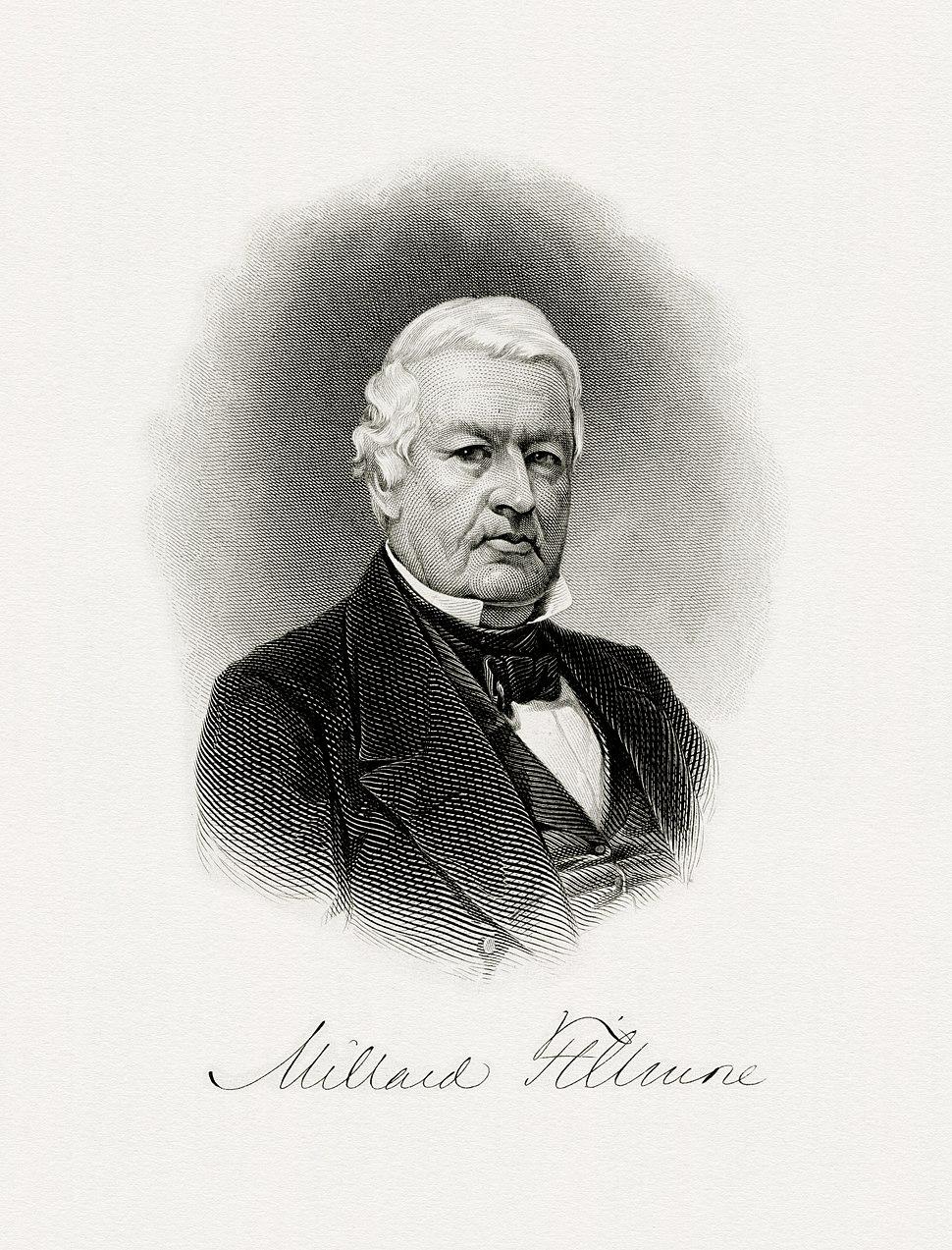 FILLMORE, Millard-President (BEP engraved portrait)