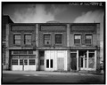 FRONT ELEVATION - Richard Eames Building, 220-222 North Depot Street, Salisbury, Rowan County, NC HABS NC,80-SALB,6-2.tif
