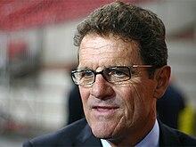 Fabio Capello As Coach Of The English National Team In