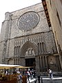 Facade of Church of Santa Maria del Pi - Barcelona - Spain (14353201766).jpg