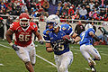 Falcons on offense at 2009 Armed Forces Bowl 3.jpg