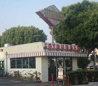 Fatburger - Fatburger restaurant in Los Feliz, Los Angeles