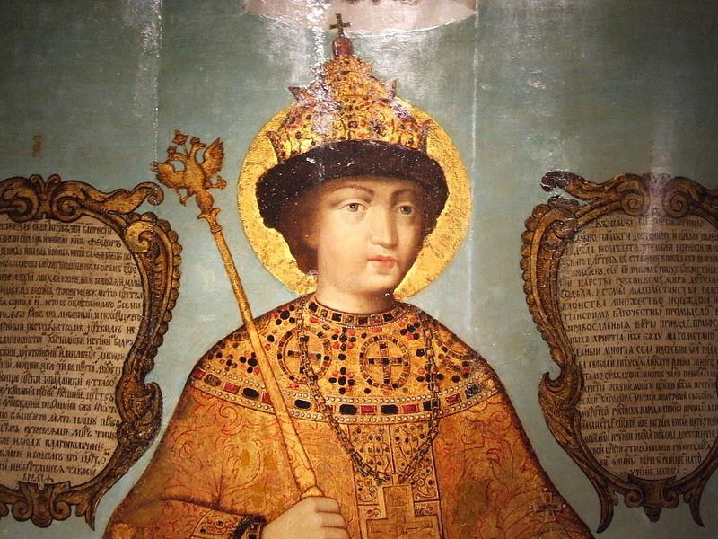 File:Feodor III by Ivan Saltanov - detail.JPG