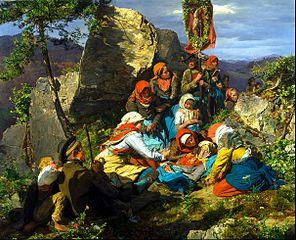 The Interrupted Pilgrimage (The Sick Pilgrim)