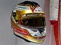 Fernando Alonso 2013 Monaco helmet 2017 Museo Fernando Alonso.jpg