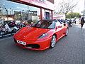 Ferrari car north London.JPG