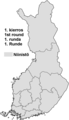 Finnish presidential election, 2018 results by constituency (I round result).png