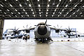 First Royal Air Force A400M transport plane is unveiled at RAF Brize Norton (45158353).jpg