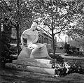 Fiumei úti Nemzeti Sírkert (Kerepesi temető), Ady Endre síremléke. Fortepan 16127.jpg