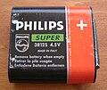 Flachbatterie PHILIPS SUPER 4,5 V Rückseite.jpg