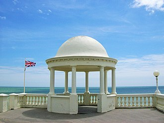 Bexhill-on-Sea - One of the two gazebos at The Colonnade