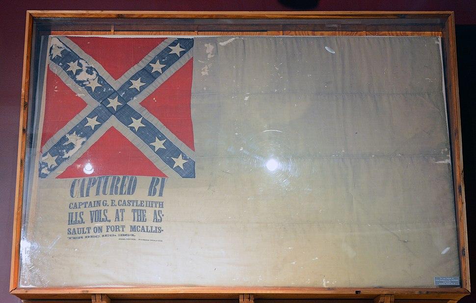 Flag of Fort McAllister, GA, US